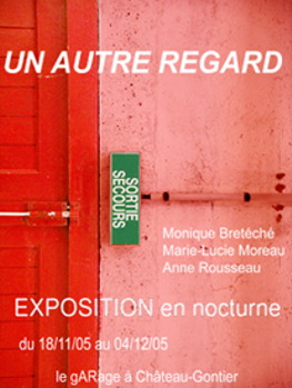Flyer de Un autre regard : Recto